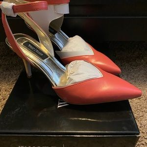 White House black market coral heels
